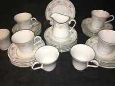 CHINA PEARL Star Light Fine China ~ 31 Pieces Dinnerware Set