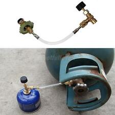 Outdoor Camping Safety Refill Adapter Gas Flat Cylinder Tank Coupler Adapter