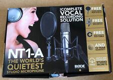 Rode Nt1-a Condenser Studio Microphone Bundle Recording