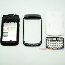 COVER + FRAME + KEYPAD +CHASSIS FULL HOUSING FOR BLACKBERRY 9780 WHITE
