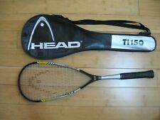 Head Ti.150 Titanium Squash Racket Racquet Power Zone System w/ case