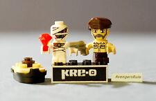Kre-O Cityville Invasion Series 2 Mini-Figure Population Adm. Burnside Zommzee