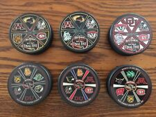 Wcha Final Five Red Baron Puck Lot Of 6 2008-13 Sioux Huskies Gophers Bulldogs