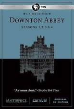 Downton Abbey: Season 1-4 (DVD, 2014, 12-Disc Set) Masterpiece 1 2 3 4 PBS