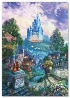 Thomas Kinkade DISNEY Disneyland, cartoon ART postcard modern