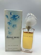 Hanae Mori Eau de Parfum Spray for Women1 oz 30 ml Dirty Box 85% full