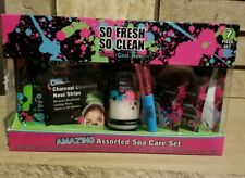 SO FRESH SO CLEAN-- 7pc Assorted Spa Care Set NEW