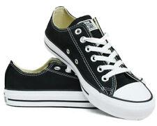 Converse All Star OX Chucks M9166 Unisex Sneaker schwarz Gr. 36 - 45 + Geschenk