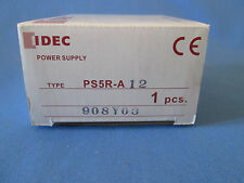 IDEC Power Supply PS5R-A12 100-240 AC In12VDC Output Adjustable Rated at 7.5W
