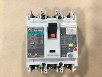 Fuji Electric EW100EAGU Earth Leakage Circuit Breaker 100A 3 Pole #62F3