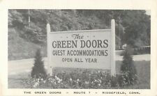 The Green Doors, Guest Accommodations, Route 7, Ridgefield, Connecticut CT
