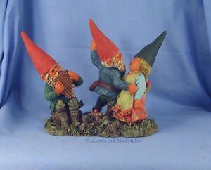 Enesco Klaus Wickl Gnome NIB Johann's Dance School 127493 Limited Edition