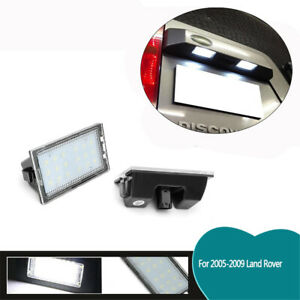 Fit For Land Rover Discovery 3 4 Car Rear Led License Number Plate Lights Lamps