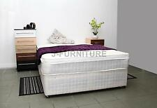4ft Divan Bed&luxury Two Sided Memory Foam and Orthopaedic Mattress&storage