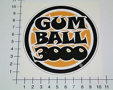 Gumball 3000 Pegatina Sticker Hot Rod racing rally Motorsport rythm mi114