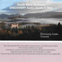 SOUTH WEST SCOTLAND Discovery CD Audio Guide & Map - History Folklore Legend