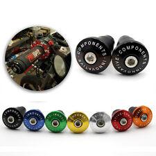 """7/8"""" Handlebar Cap Ends For Honda CBR600 F4 CBR1000 MAX125 Grom CBR250R CBR500F"""