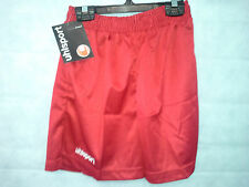 "2 Pairs Uhlsport Mens Football Shorts Size 38/40"" Waist Brand New Red #2142"
