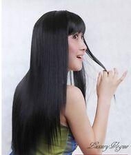 BEST-SELLING EX-LONG BLACK WIGS/HAIR PERRUQUE 93#2 TT