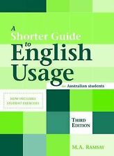 A Shorter Guide to English Usage for Australian Students, Ramsay   9780170119955