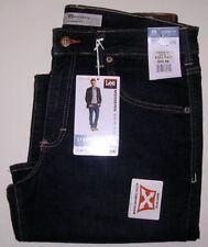"Mens LEE Modern Series L342 Straight Jeans 33"" x 32"" Blue Jeans"