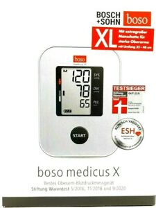 boso medicus X - mit XL Manschette - Oberarm-Blutdruck-Messgerät