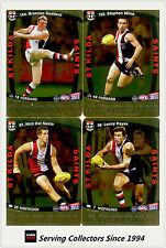 2011 AFL Teamcoach Trading Cards Gold Parallel Team Set St Kilda (11)