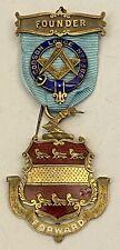 Victorian Founder Jewel Godson Lodge 2385 Halesowen Worcestershire  Masonic 1890