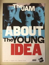 The Jam. Original exhibition poster, Somerset House, 2015