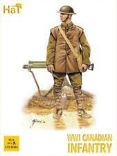 HaT 8111 1/72 Plastic WWI Canadian Infantry  (100 Pieces)