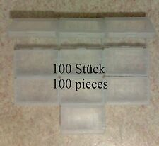 100 Cartridge cases (hülle, hüllen) Game Boy Advance GBA, protection plastic box