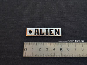 Tokio Hotel Necklace stainless steel Alien Dog Tag Pendant merch logo symbol