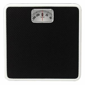 Taylor Precision Products Mechanical Rotating Dial Analog Bathroom Scale (Black)