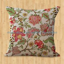 US SELLER- retro vintage floral cushion cover dining chair cushion cover