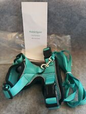 Rabbitgoo NoPull Dog Adjustable Pet Vest Harness with Handle Teal New XS