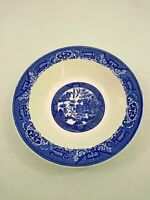 """Willow Ware by Royal China Blue 10"""" Vegetable/Serving Bowl"""