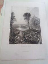 Old print per inquadrare il mercurio e ARGUS JMW TURNER R.A. pinxt WILLMORE scolpire.