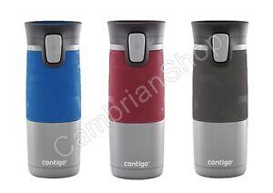 Avex Contigo AutoSeal Vacuum Stainless Steel Thermos Leakproof Travel Mug Flask