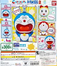 Doraemon Figure CAPCHARA Part II, 4pcs - Bandai