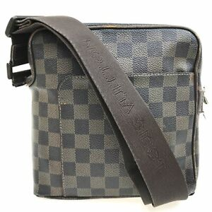 100% authentic Louis Vuitton Damier Olav PM Shoulder Bag N41442 [Used] {04-0331}