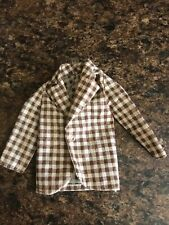 1973 Mod Hair Ken Brown and White Checked Jacket