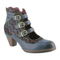 L'Artiste by Spring Step Women's   Dorrie Buckled Bootie