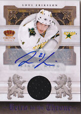 10-11 Crown Royale Loui Eriksson /50 Auto Jersey Heirs To The Throne 2010