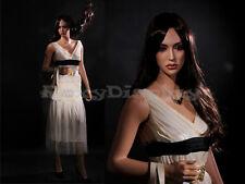 Female Fiberglass Mannequin Beautiful Face with elegant pose Style #MZ-LISA7