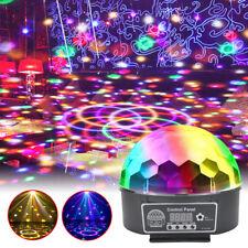 LED RGB Discokugel Lichteffekt DJ Automatisch LED Party Bar Pubs Fernbedienung