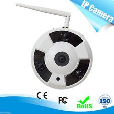 IP CAMERA WIFI DOME LAN VIDEO SORVEGLIANZA 3 LED ARRAY 1.3 Mpx TVL SOFFITTO 360°