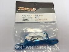 Topcad TT02 Blue alloy front and/or rear Damper Stay Shock Tower 13311LB