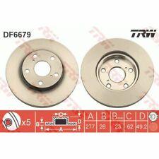 Bremsscheibe TRW DF6679