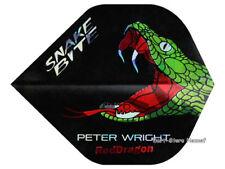 """6 Flights Red Dragon """"PETER WRIGHT"""", Snakebite, schwarz-grün - versandkostenfrei"""
