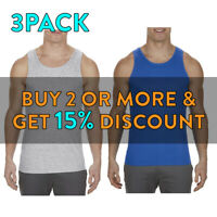 3 PACK AAA ALSTYLE 1307 MENS PLAIN TANK TOP ACTIVE SLEEVELESS CASUAL MUSCLE TEE